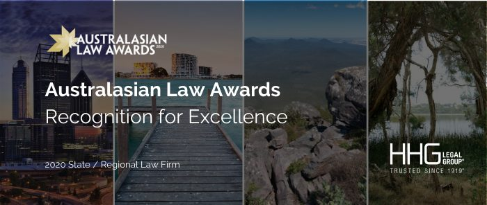 Australasian Law Awards final in article