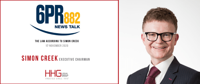 6PR Simon Creek 171120 In article